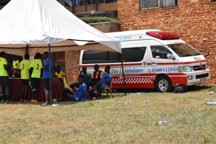 City ambulance events medical support