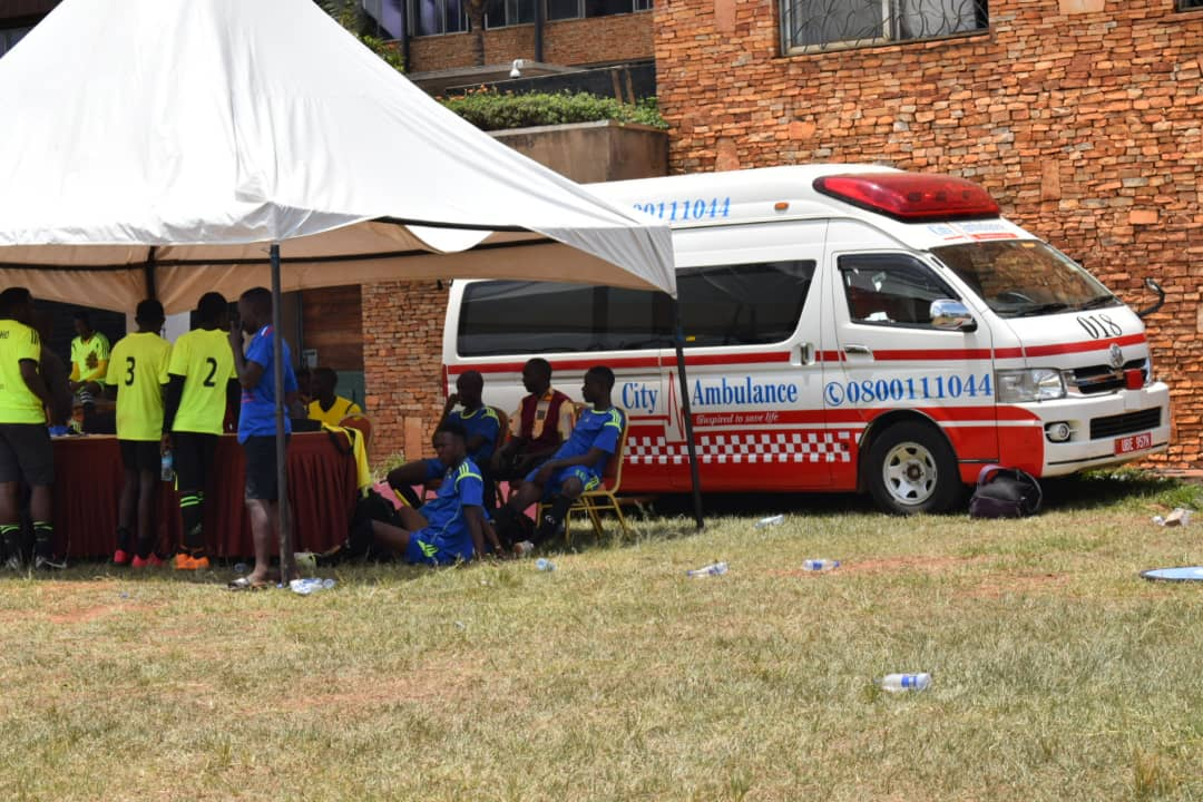 City ambulance events medical support