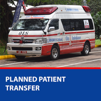 planned patient transfer